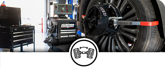 Wheel Alignments, Tire Balancing, and Tire Rotations in Plano & Wylie, Texas