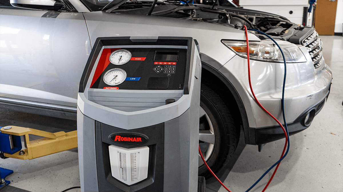 Vehicle A/C Freon Recharge
