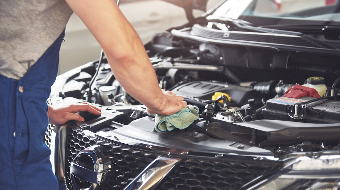 Used Car Engine Inspection Process