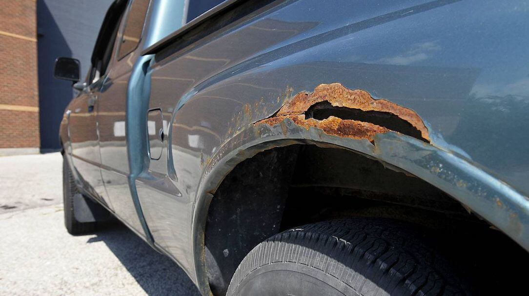 Used Vehicle Rust Inspection